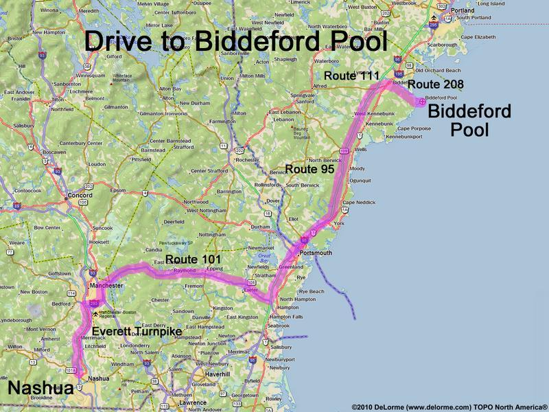 Drive To Biddeford Pool Beach