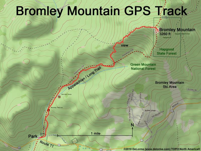 Hiking Bromley Mountain