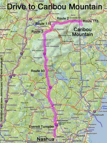 Drive To Caribou Mountain