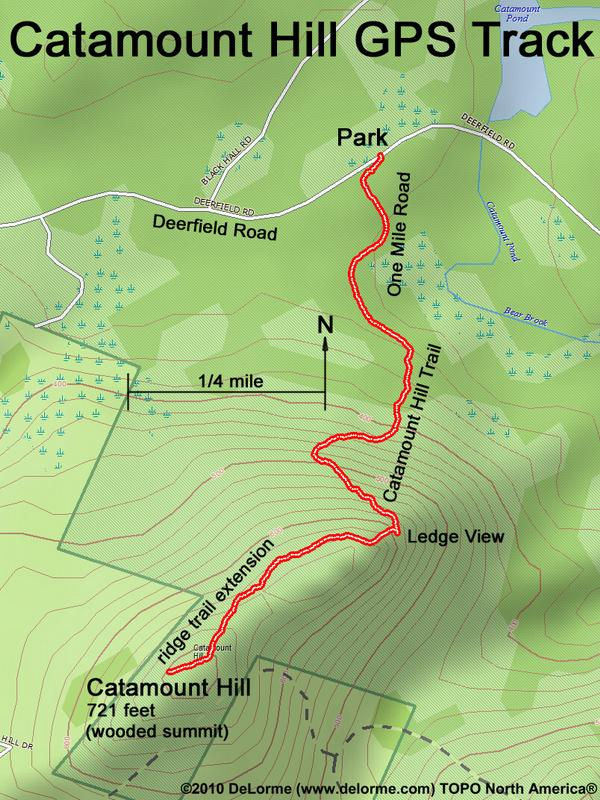 Hiking Catamount Hill on