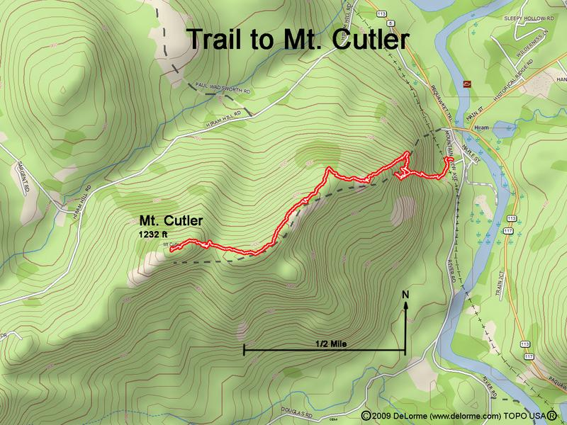 Directions to mount cutler gps track trail to mt cutler publicscrutiny Images