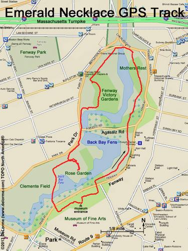 Hike Emerald Necklace Ma