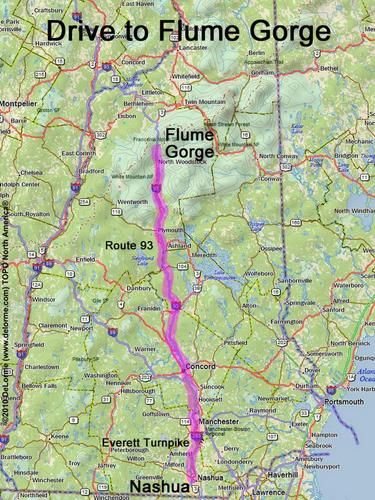 Directions To Flume Gorge