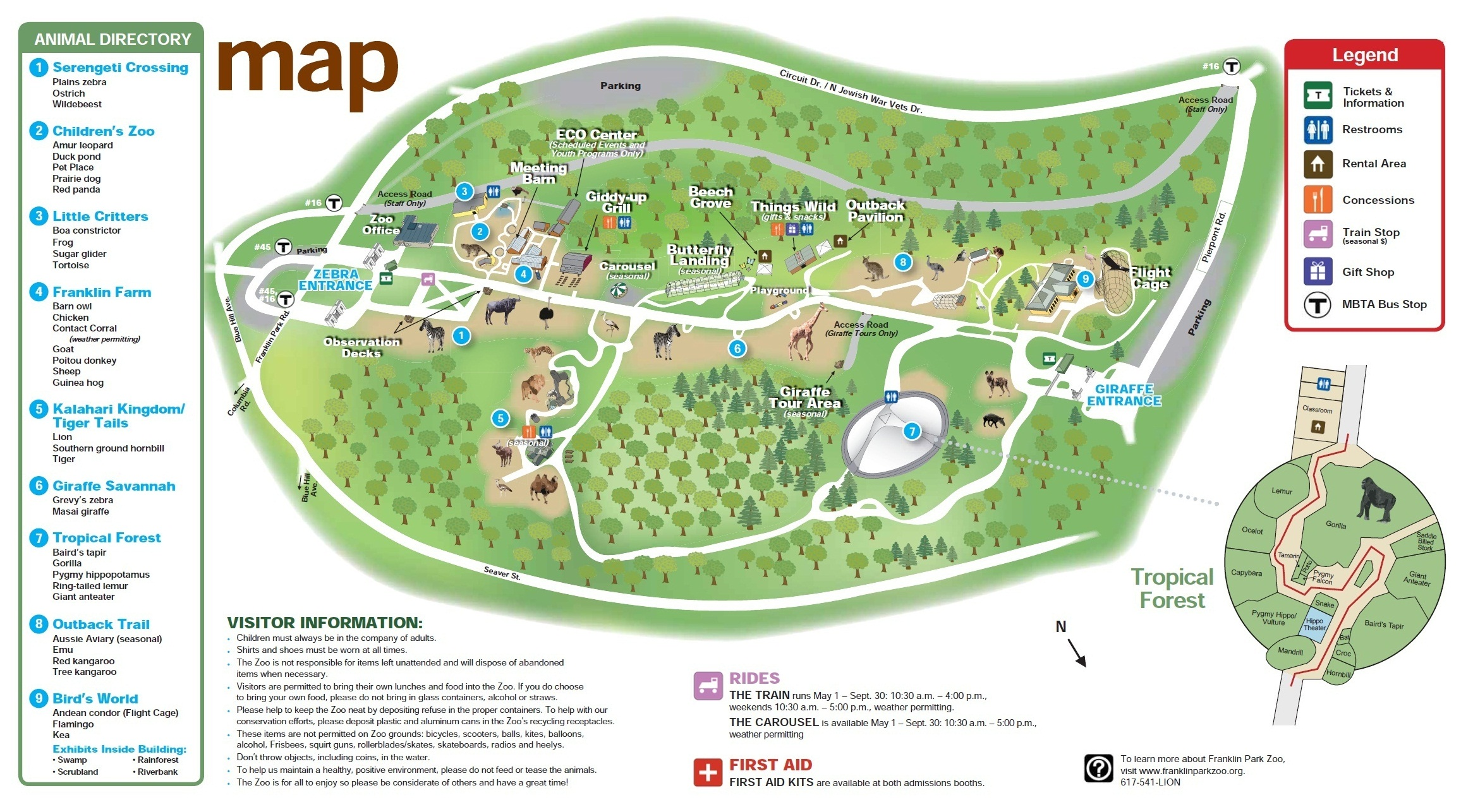 Franklin Park Zoo Map Jorgeroblesforcongress