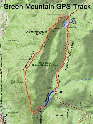 hike Green Mountain VT