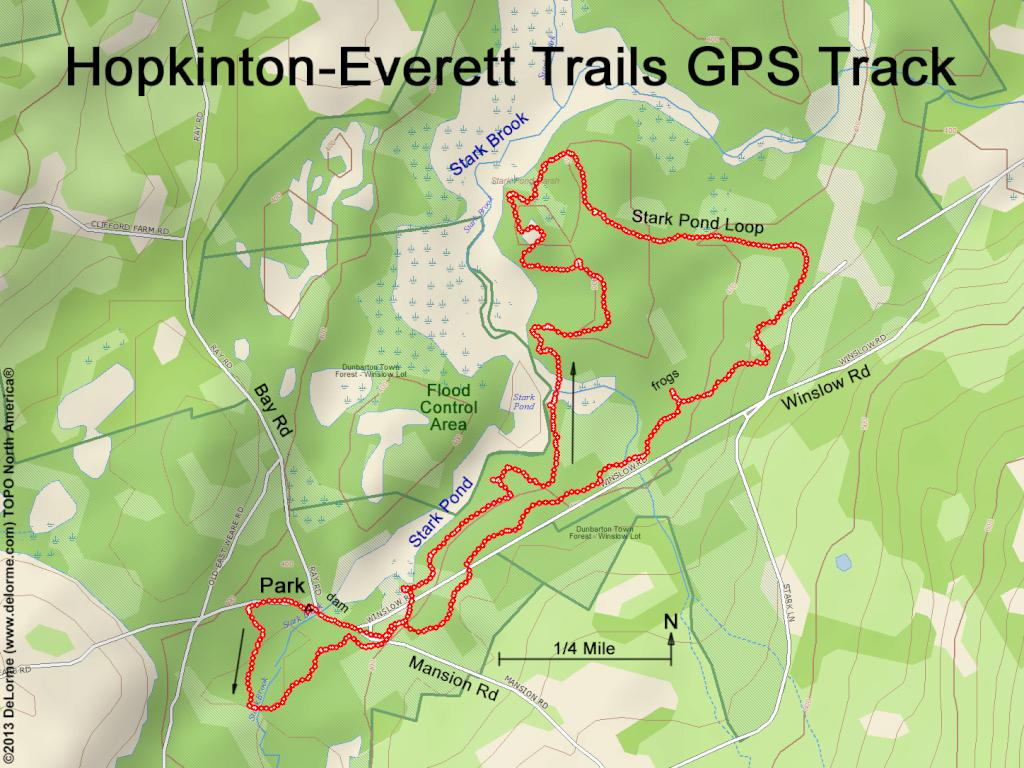 Hiking Hopkinton-Everett Trails