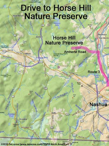 Horse Hill Nature Preserve Parking