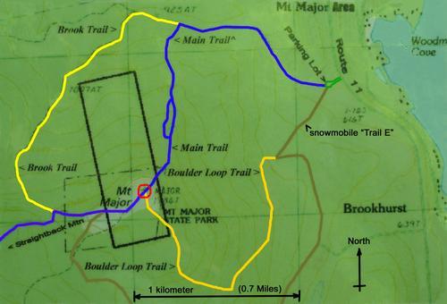 hike Mount Major NH