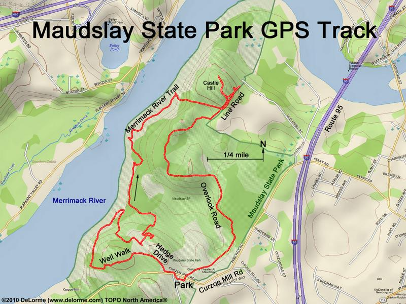 directions to Maudslay State Park