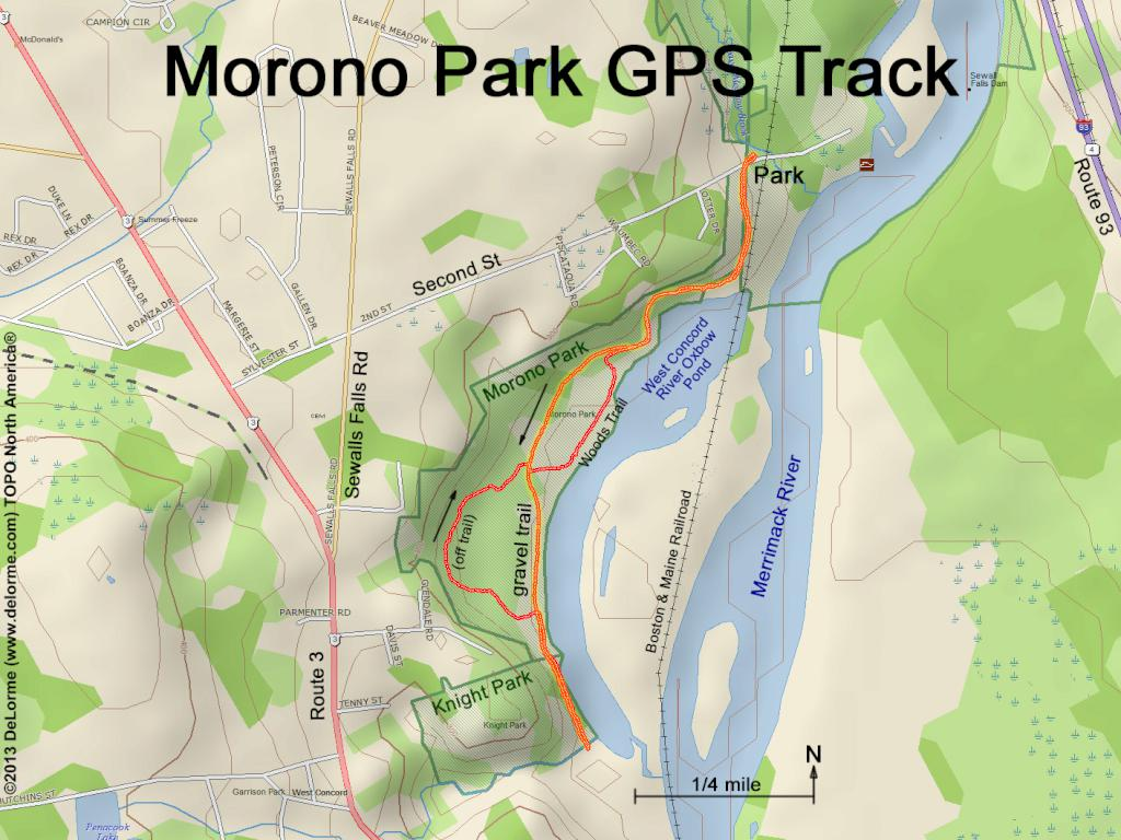 Hiking Morono Park