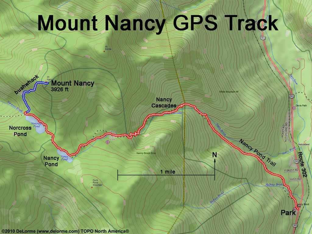 Hiking Mount Nancy