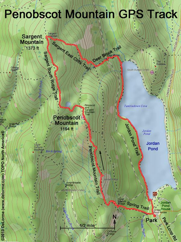 directions to Penobscot Mountain