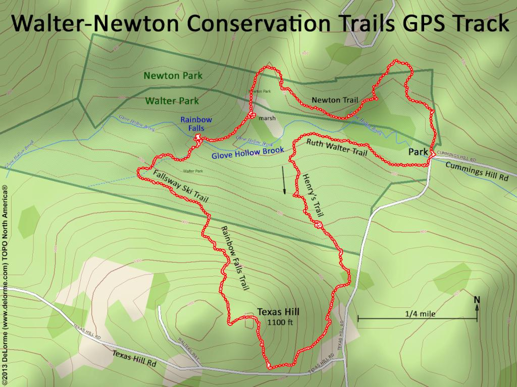 Hiking Walter-Newton Conservation Trails